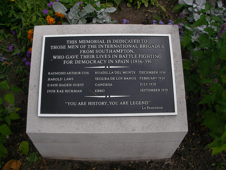 The Southampton memorial