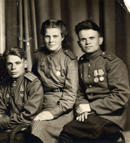 Фронтовые друзья - Фото военных лет - Фотоальбом - Великая ...