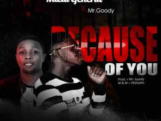 Mizta General ft Mr Goody – Because of you