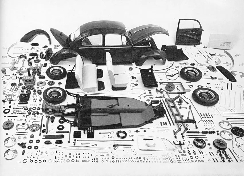'67 Beetle — One Year Only Parts