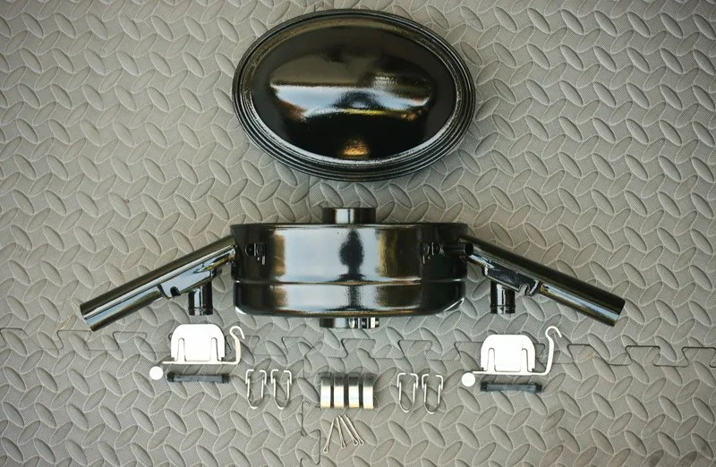 Restored Oil Bath Air Cleaner for '67 VW Beetle - Parts