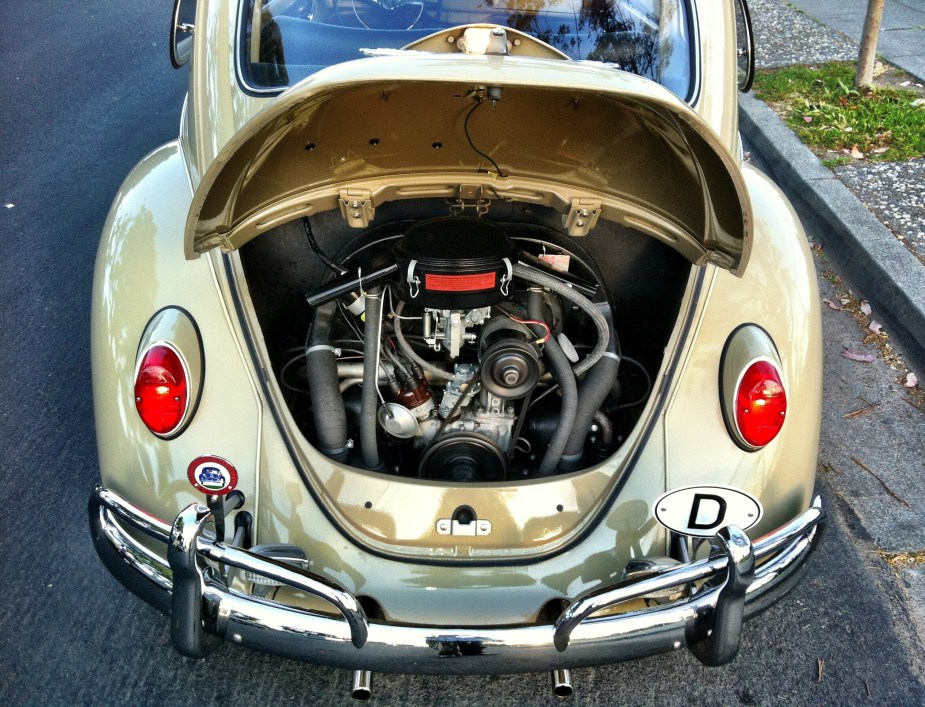67 Beetle — One Year Only Parts – 1967 VW Beetle