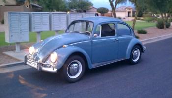 Original Wheel Restoration – 1967 VW Beetle