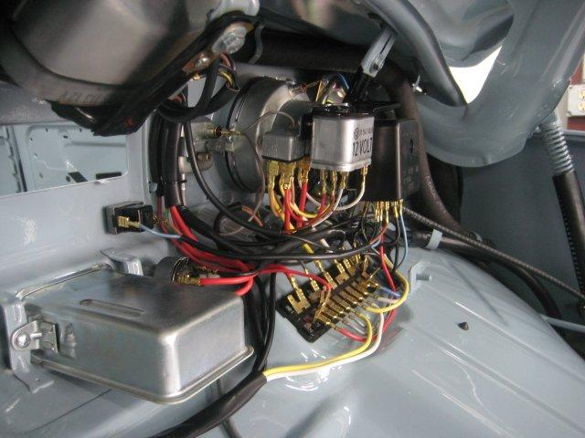 67 Beetle Wiring Basics Jeremy Goodspeed 1967 Vw. For Installation In A Vw Beetle Please Note The Following Pin 86 Is Easily Drawn From Stock Hilow Headl Relay Simply Run Yellow And White. Volkswagen. Vw Bug Wiring Harness Kit At Scoala.co