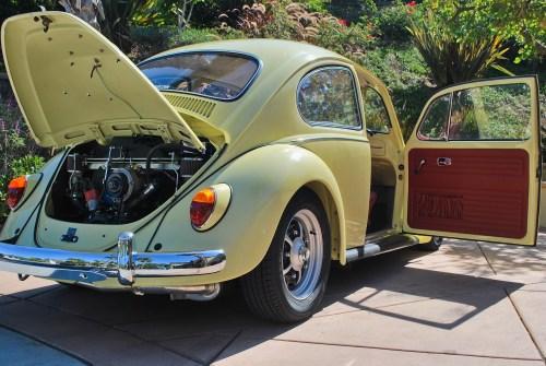 sold lk yukon yellow  beetle  vw beetle