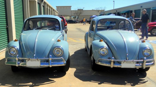 Zenith Blue '67 Beetle Twins