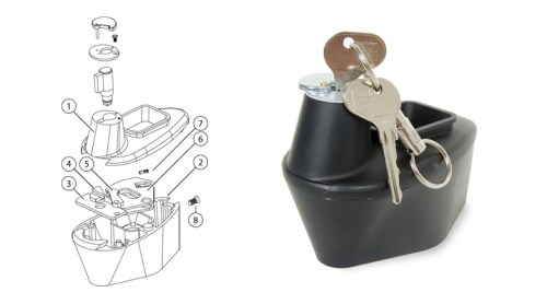 Keeping Your '67 Beetle Safe — Shift lock