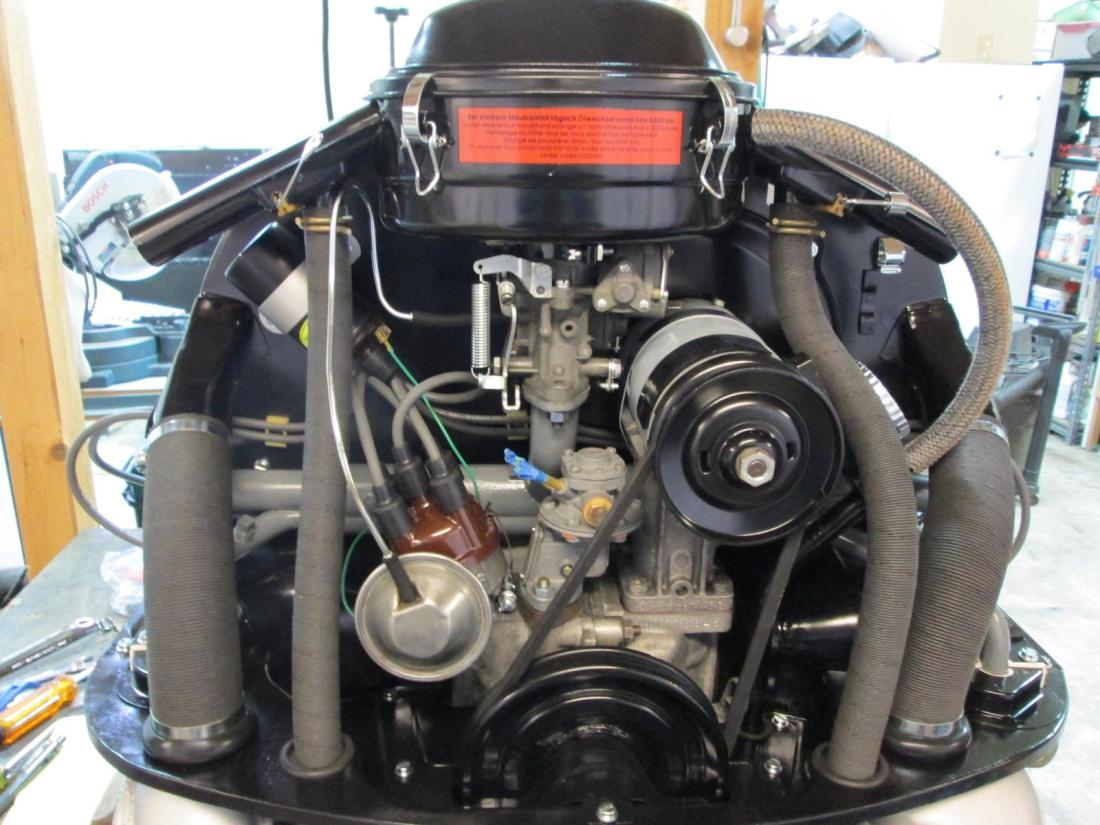 Do you have the stock factory oil bath air cleaner on your car? Maybe you  just bought a restored one from 1967beetle.com. Well, now that it's sitting  atop ...