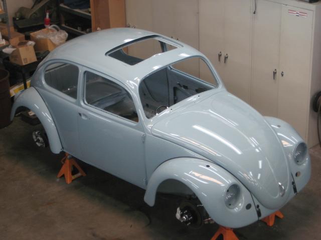 '67 Volkswagen Beetle — Sunroof Rebuild