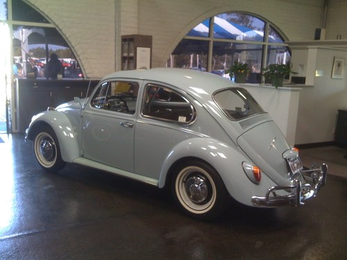 WANTED — L639 Zenith Blue '67 Beetle