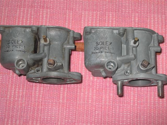 30 Pict-1 Carburetor Differences – 1967 VW Beetle