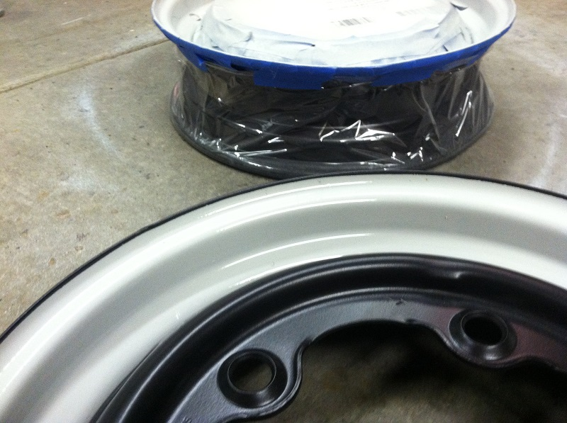 '67 Volkswagen Beetle — Original Wheel Restoration