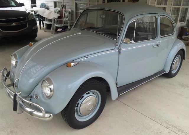Sold L639 Zenith Blue 67 Beetle 1967 Vw Beetle