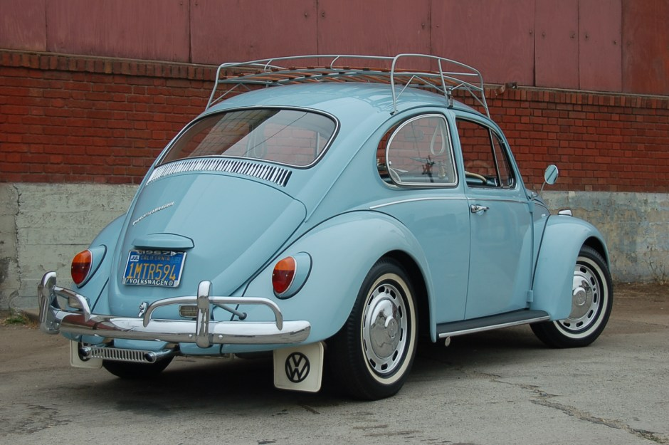 SOLD — L639 Zenith Blue '67 Beetle | 1967 VW Beetle