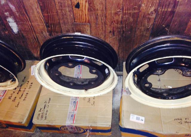 For Sale — '67 Beetle German Rims