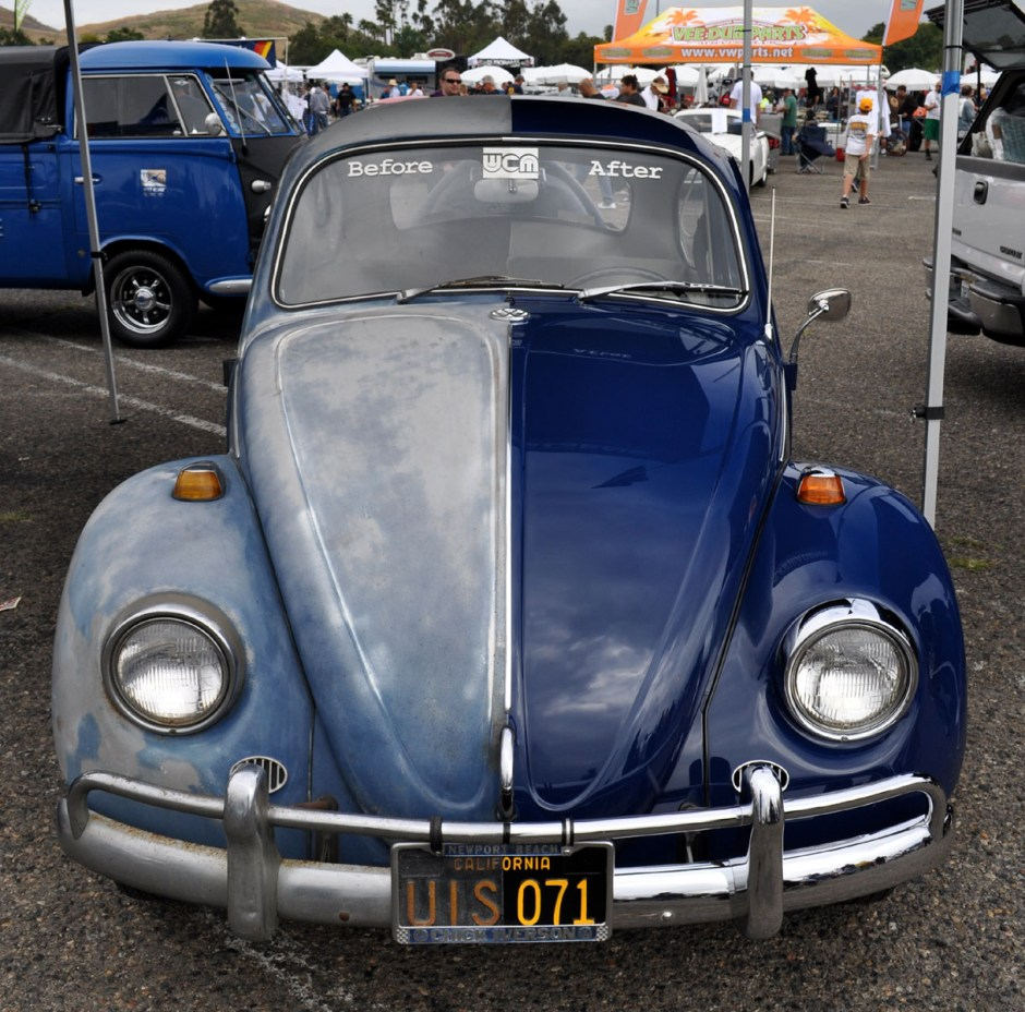 L633 VW Blue '67 Beetle