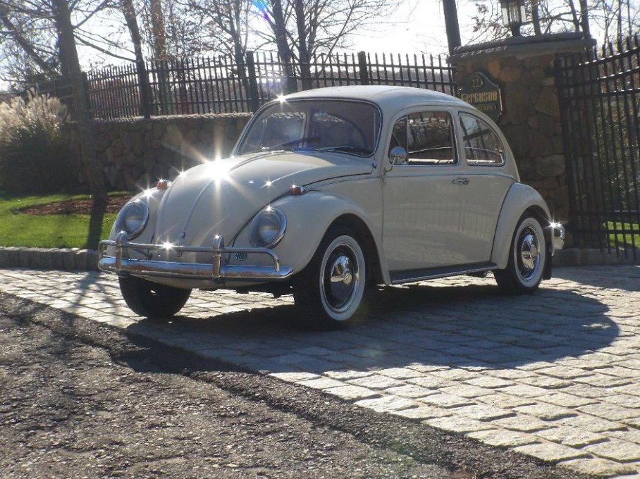 FOR SALE – L282 Lotus White Euro '67 Beetle