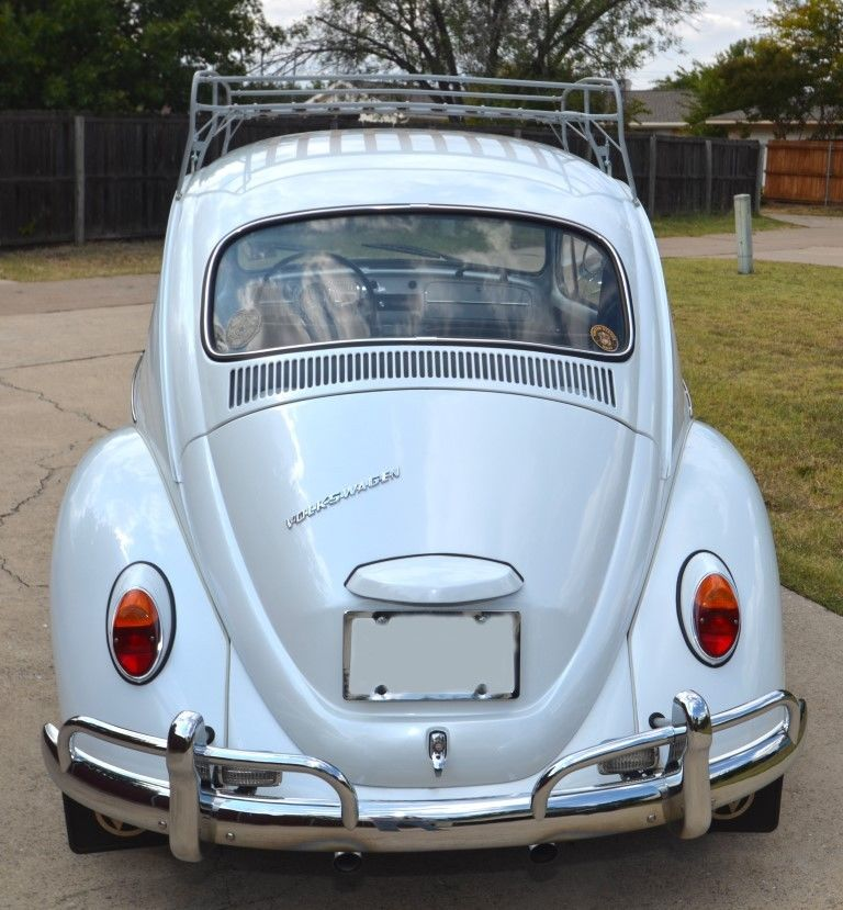 FOR SALE — L282 Lotus White '67 Beetle