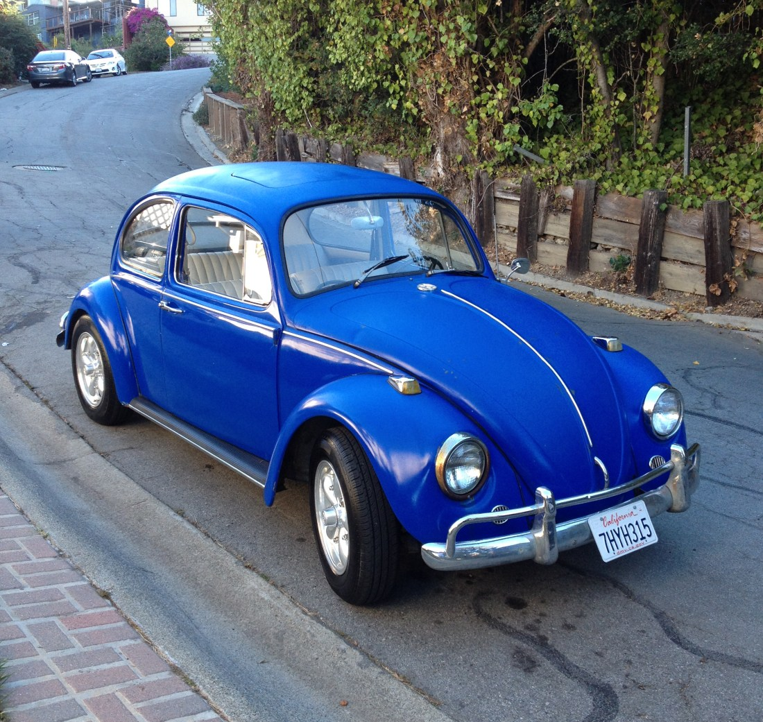 1967 Vw Beetle Show Car For Sale Oldbug Com: SOLD L633 VW Blue 67 Beetle Volkswagen Beetles T