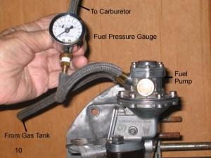Vintage Volkswagen Beetle Fuel Pressure – 1967 VW Beetle