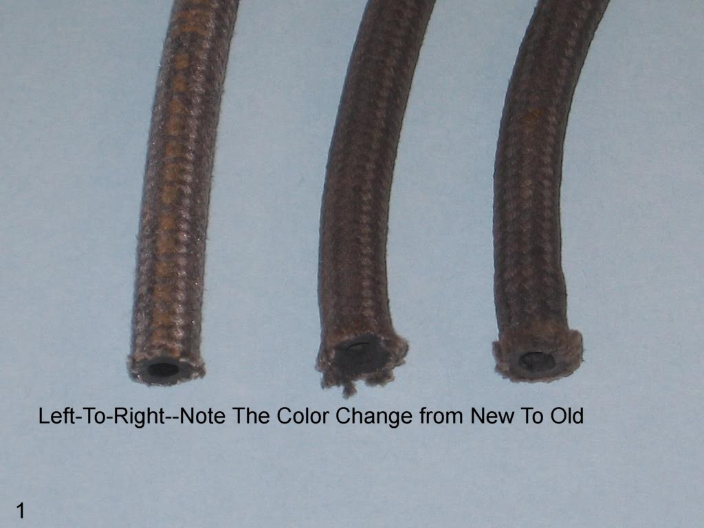 German 5mm Cloth Bound Fuel Hose
