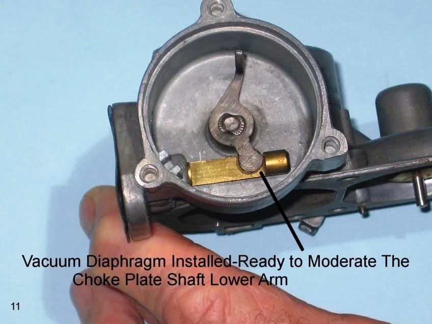 VW 105-1 30 Pict-1 Carburetor – The Choke Processes, Part I – 1967