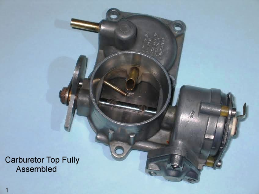 30 Pict-1 Carburetor Differences – 1967 VW Beetle