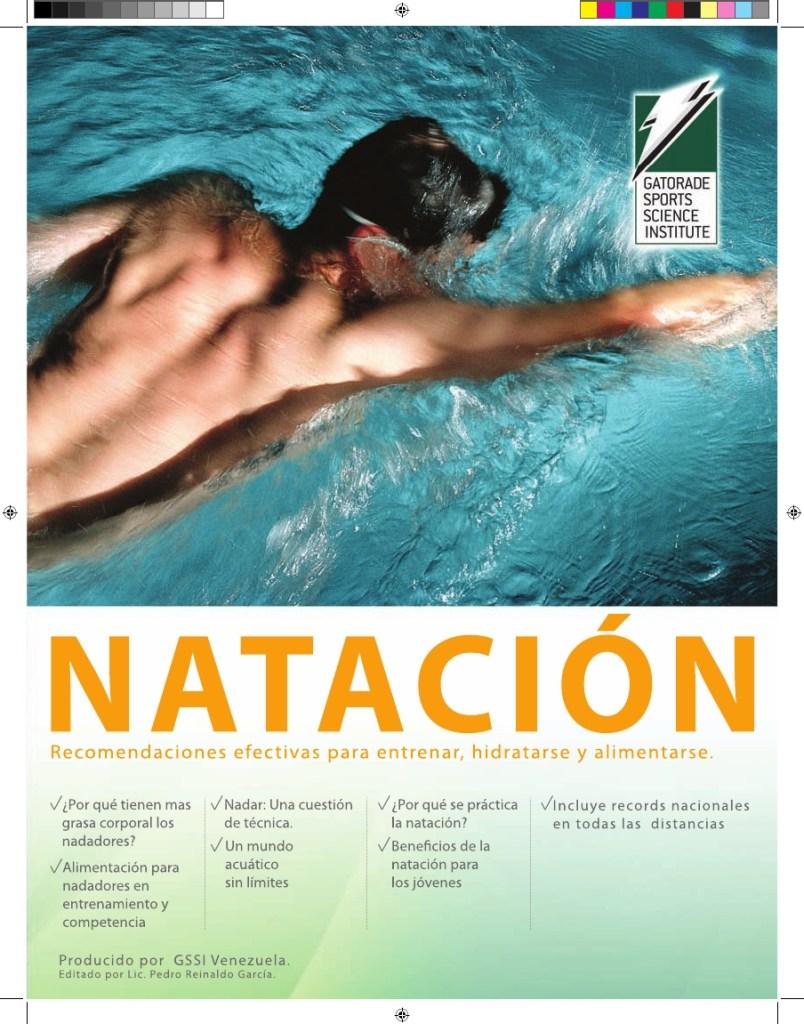 Natacion y Nutricion Instituto Gatorade