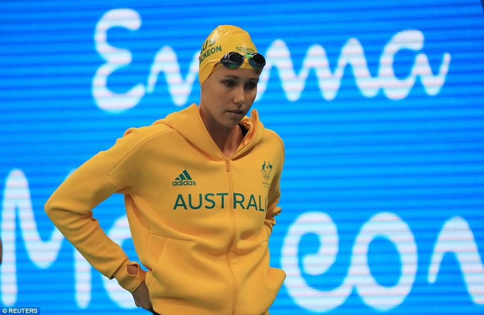 Australian Swimmer emma mckeon @emmamckeon