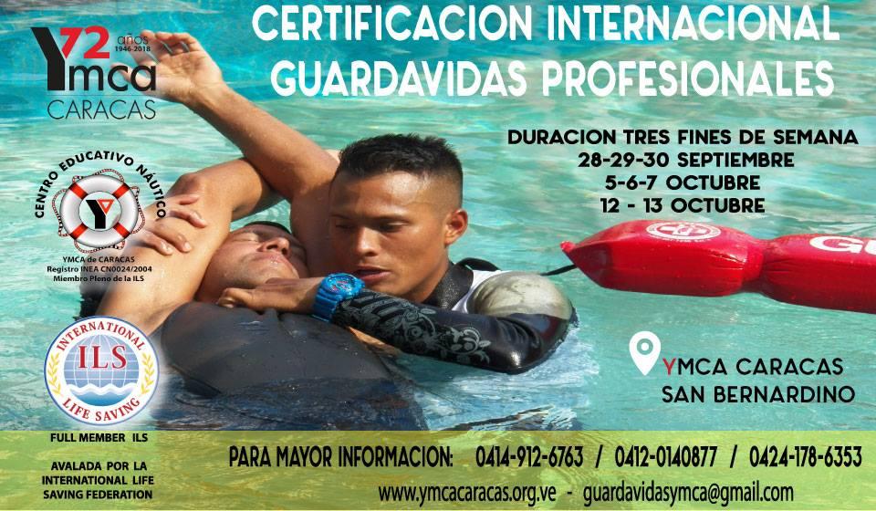 Certificación Internacional YMCA de Guardavidas Profesionales
