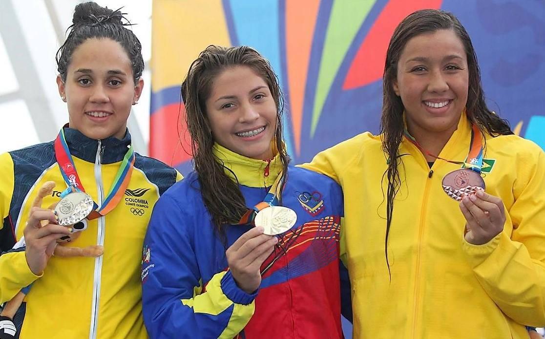 Lismar Lyon medalla Oro Juegos Sudamericanos de la Juventud Chile 2017