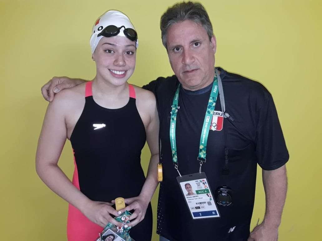 Samantha Bello y Ricardo Jimenez YOG Buenos Aires 2018