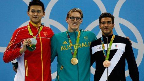 Mark Horton Nadador Australia Oro 400 Libre Rio