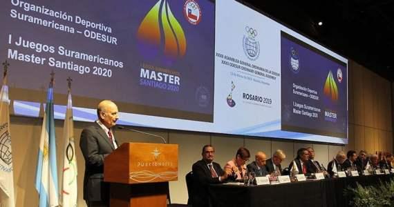 Chile se adjudica los I Juegos Suramericanos Master
