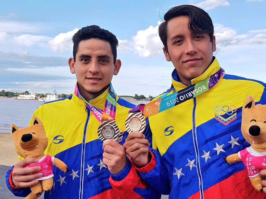 Diego Vera y Wilder Carreño Juegos Deportivos de Playa 2019