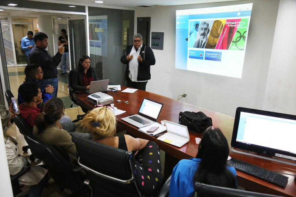 COV inicia la inducción de la plataforma SIRADOV