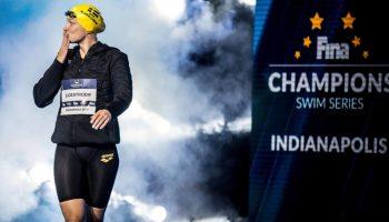 Sarah Sjostrom completó 5 medallas en Indianapolis. Foto Jack Spitser Photography