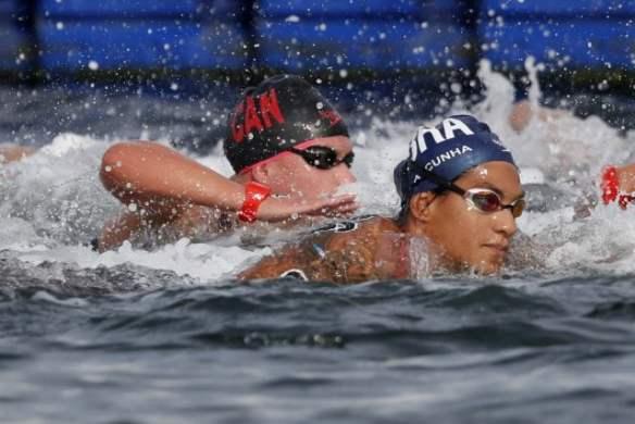 Ana Maria Cunha obtiene el oro en los 5 km Mundial FINA 2019