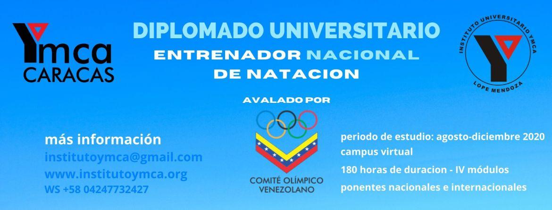 Diplomado YMCA Entrenador Natacion 2020