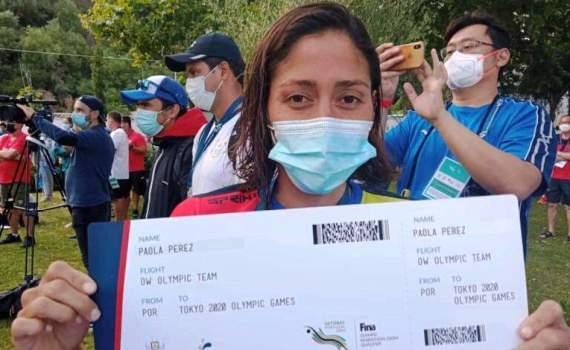 Paola Perez obtiene su ticket para Juegos Olímpicos de Tokio 2020