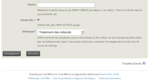 CiviCRM Param Comptes courriel 2