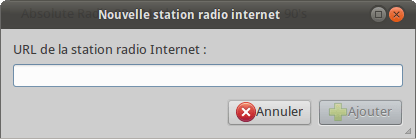Nouvelle station radio internet