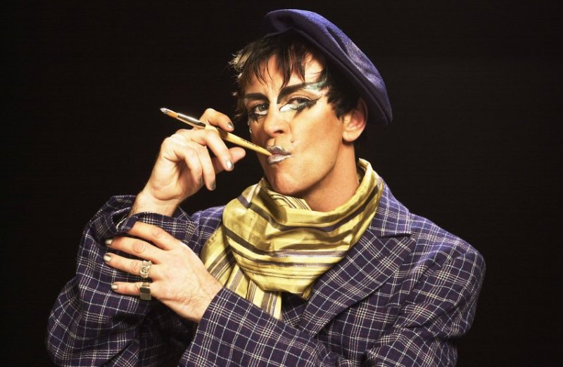Photo of Steve Strange by Tabatha Fireman 2003