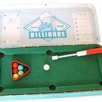 小学生時代「ビリヤードができる筆箱」