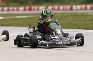 Australian Jack Doohan was victorious in his Micro Max debut (Photo: INTL-KartingMedia.com)