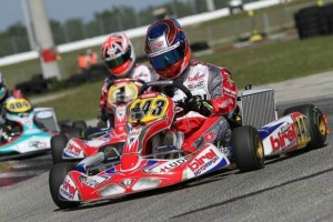 Swiss driver Kevin Lüdi edged out defending Rotax champ Ben Cooper for the top spot in both DD2 sessions(Photo: Ken Johnson - FWT)