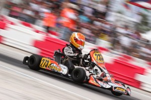 Pedro Cardoso was one of three junior drivers who are proving the PSL-CRG package to be strong and capable of winning (Photo: PSLKarting.com)