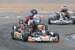 Arizona driver Diego LaRoque held off the competition in Micro Max for his first Challenge victory (Photo: Sean Buur - Go Racing Magazine)