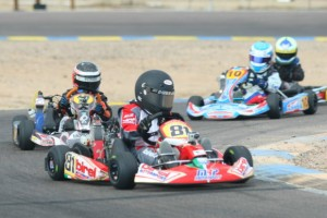 Payton Durrant earned his second win of the season in Micro Max (Photo: Sean Buur - Go Racing Magazine)