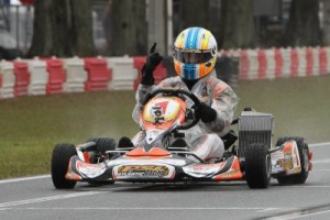 Alan Rudolph won the DD2 Masters feature in addition to the 2013 Dan Wheldon-FWT Karting Ambassador Award (Photo: Ken Johnson - FWT)